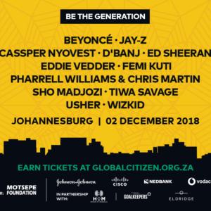 Mandela 100 Concert - Global Citizen